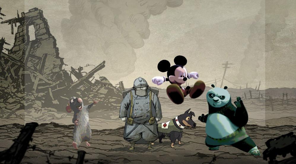 9 – Soldats inconnus : Mémoires de la grande guerre / Les jeux Kinect pour enfants (Mickey-Ratatouille-Kung-fu Panda)