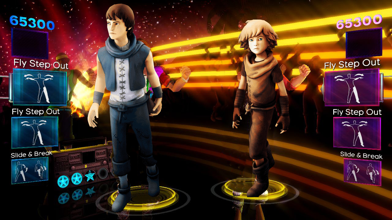 11 – Dance Central Zumba rush / Brothers : A Tale of Two Sons