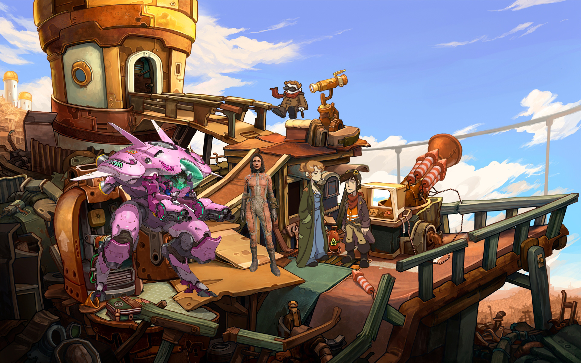 38 – Overwatch / Fallout 4 / Deponia