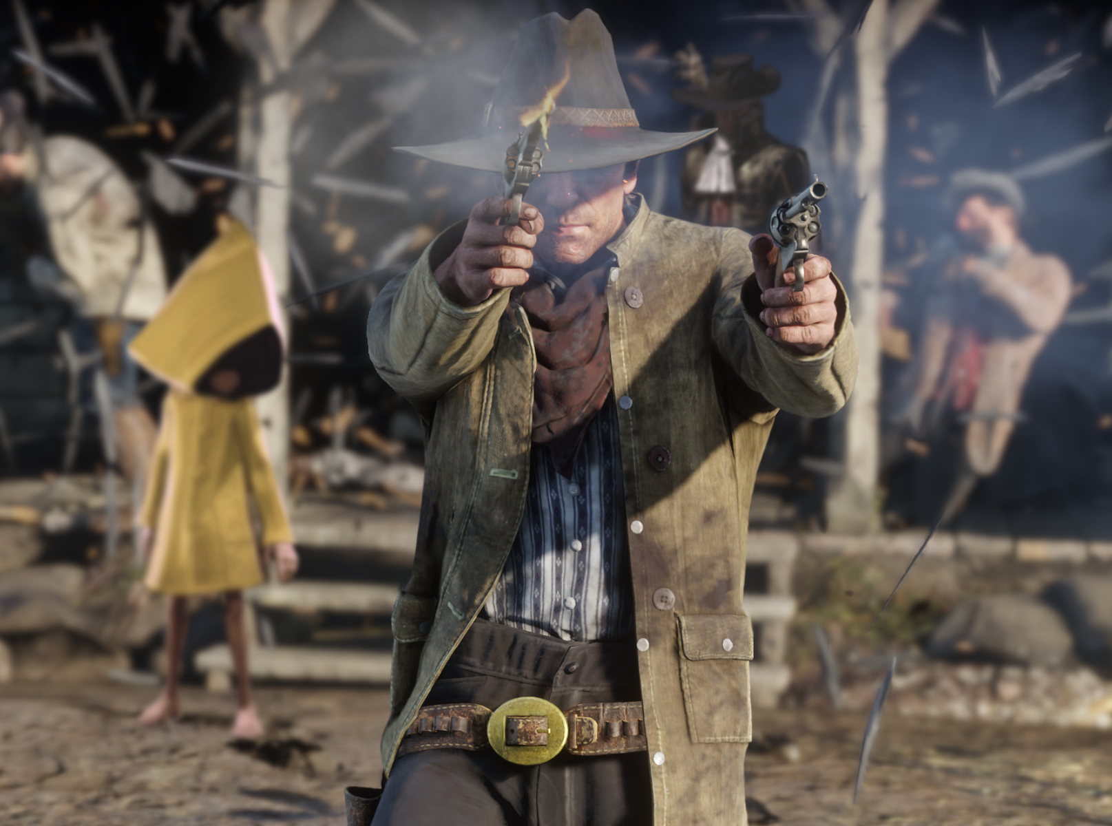 90 – Red Dead Redemption 2 / Little Nigthmares 2 / Greedfall